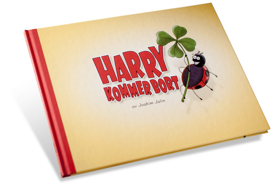 Harry Kommer bort - Illustrerad barnbok av Joakim Jalin