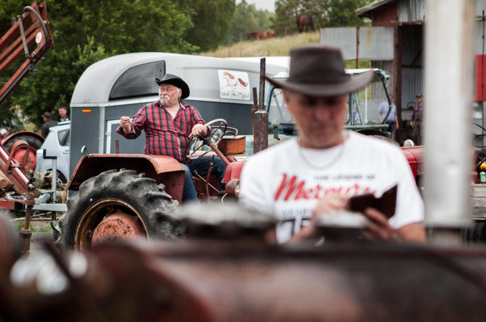 Antique tractors get-together