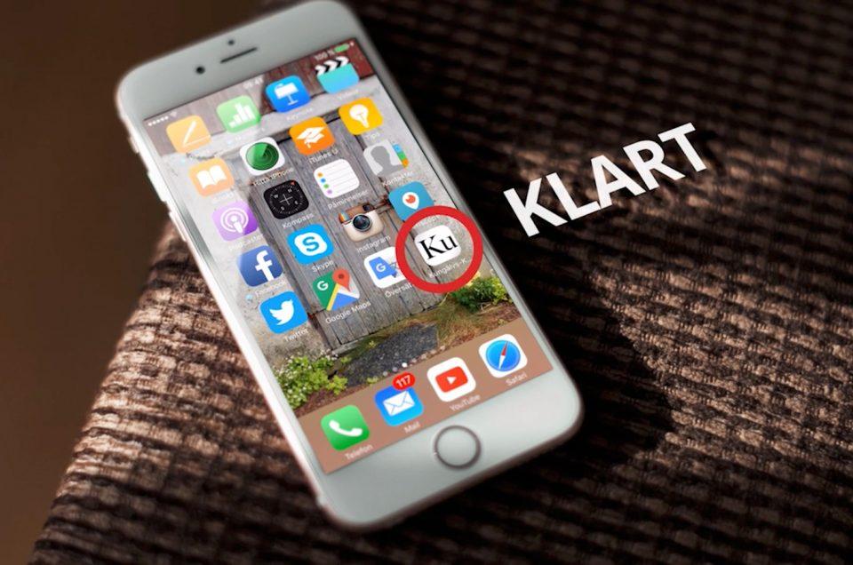Kungälvs-Kuriren i mobilen